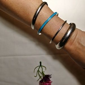 Lot of 4 bangle bracelets